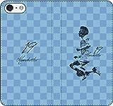 iPhone/Xperia/Galaxy/他機種選択可:サッカー/グラフィティ/へのへのもへじタッチ手帳ケース(デザイン:C_マンチェスター/19番_01) 03 iPhone6/6s
