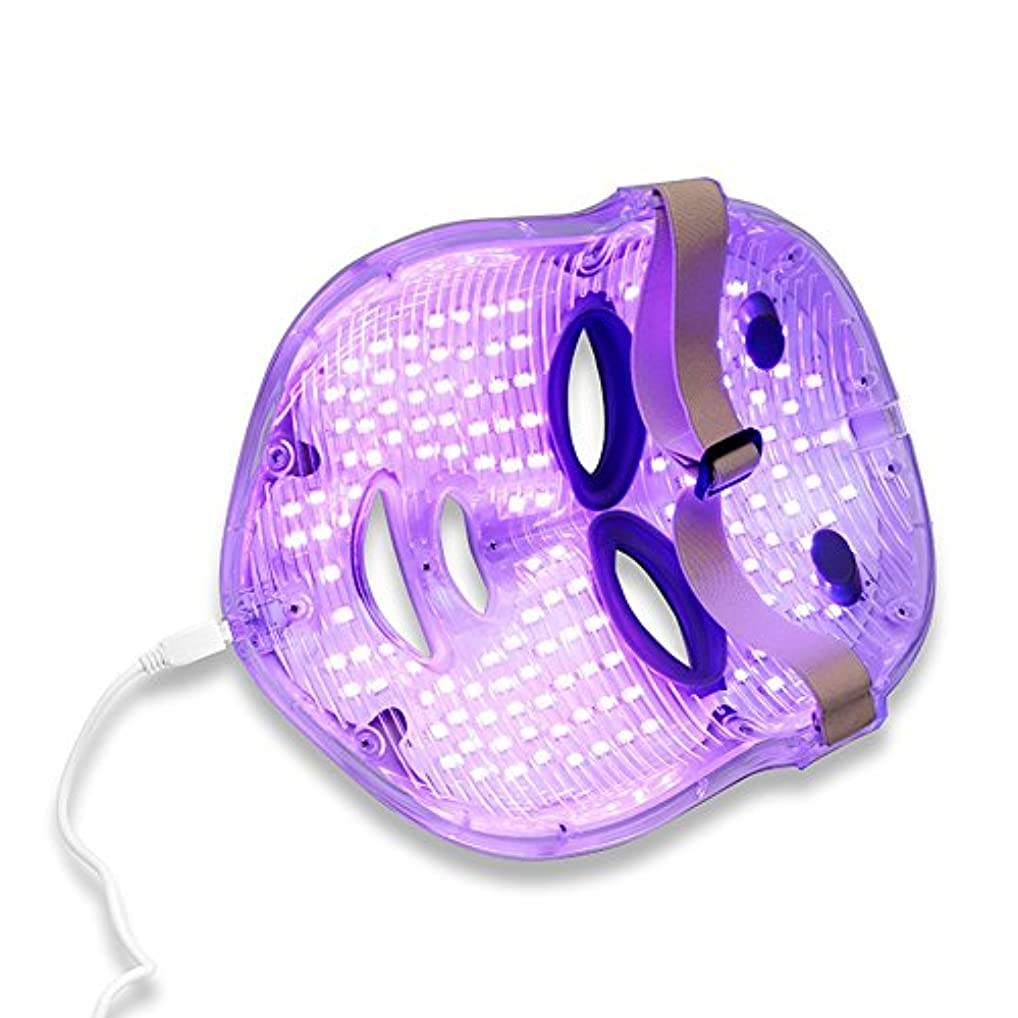 嫌がらせイディオム投票光線療法機械皮の再生装置LEDカラーマスクの心配,White