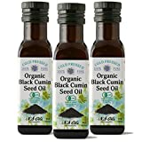 エヌエスオイルズ 有機食用ブラッククミンシードオイル100ml×3本お得セット NS Oils Organic Black Cumin seed Oil 100ml【食用オイル】