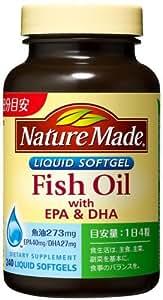 大塚製薬 ネイチャーメイド フィッシュオイル(EPA/DHA) 240粒