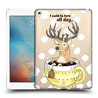 Head Case Designs ティーカップ クリスマス・アニマルズ iPad Pro 9.7 (2016) 専用ハードバックケース