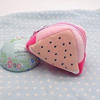 幼児期のゲーム かわいいフルーツのぬいぐるみのおもちゃの財布ビーズ(ピタヤ)と両面