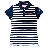 (サマンサタバサ) Samantha Thavasa UNDER25 ボーダー ポロシャツ 半袖 レディース ゴルフ ウェア シャツ