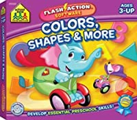 School Zone Publishing SZP09065 Colors Shapes & More Flash Action Software
