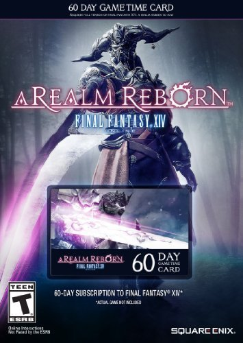 Final Fantasy XIV: A Realm Reborn 60 Day Time Card by Square Enix [並行輸入品] Square Enix