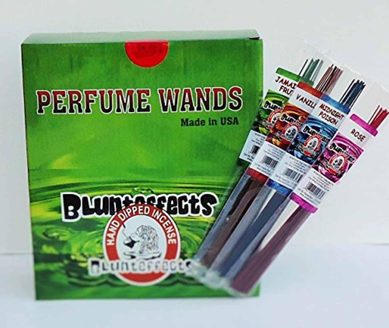 隣人高い隠されたBlunteffects hand-dipped Incense表示72 Count