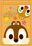 ティーズファクトリー ディズニーミニミラー フェイス/チップ&デール 5.7×8.3×0.5cm DN-5522720CD