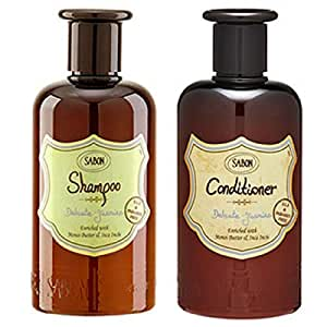 SABON サボン ギフト トライアル キット シャンプー & コンディショナー Hair Care Starter Kit トラベル お試し ジム 旅行