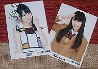 高木由麻奈 SKE48 キスだって左利き 女子高生 制服 写真2枚郵92