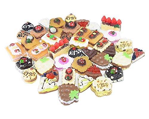 ミニチュアケーキパーツ 21種類42個セット SA-P717