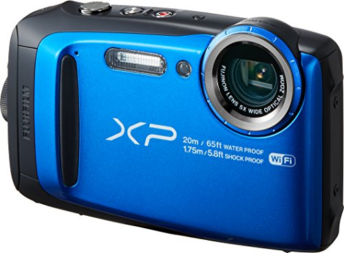 FUJIFILM デジタルカメラ XP120 ブルー 防水 F...
