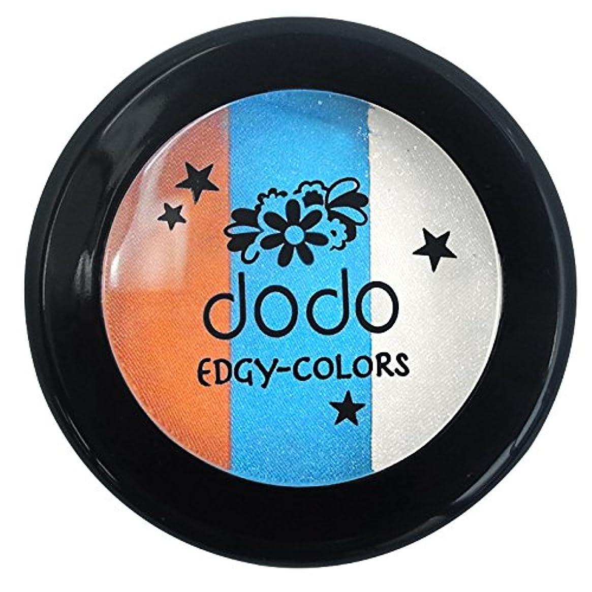 泥だらけ化学鋸歯状ドド エッジィカラーズ EC60ピーコックブルー
