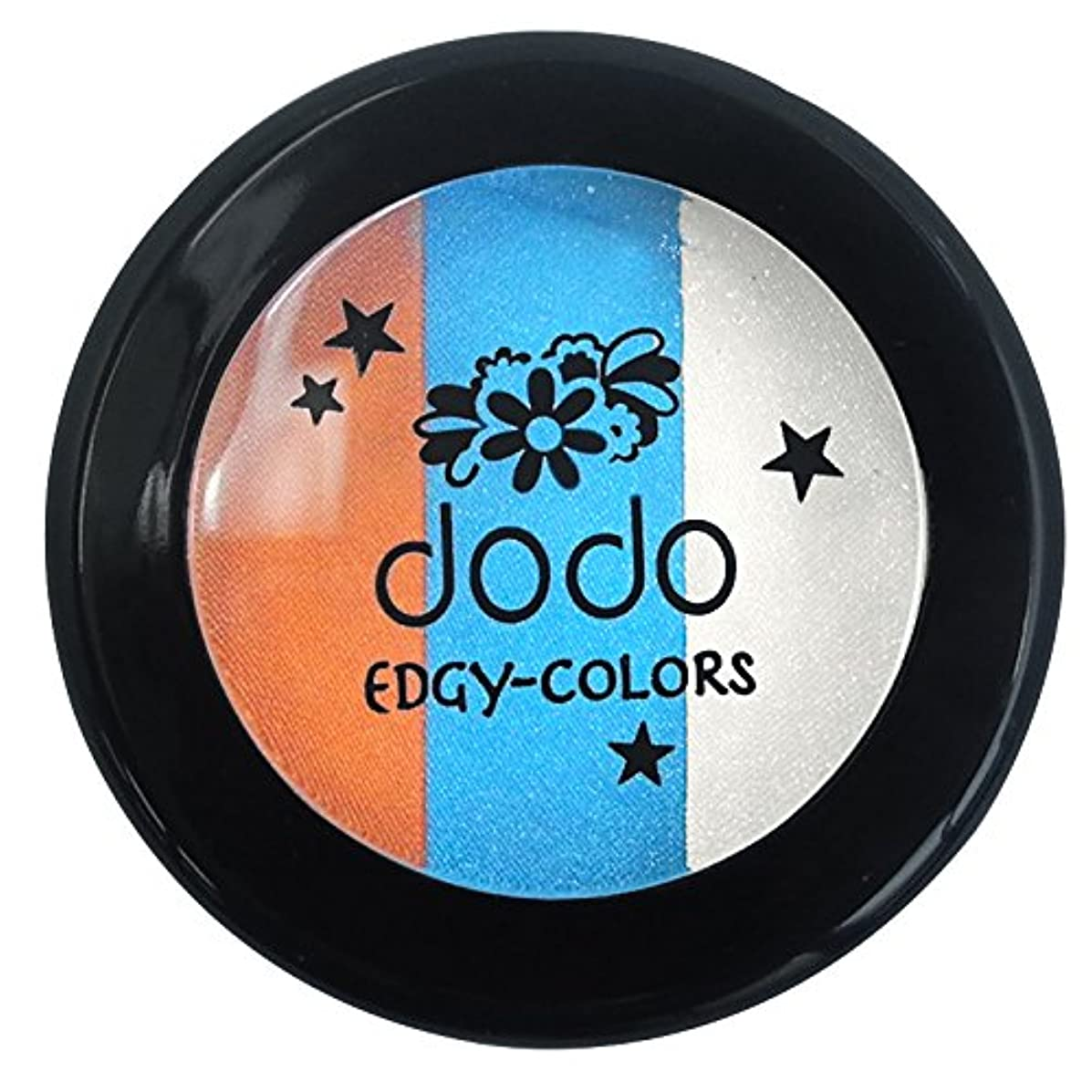 小包汚染複雑でないドド エッジィカラーズ EC60ピーコックブルー