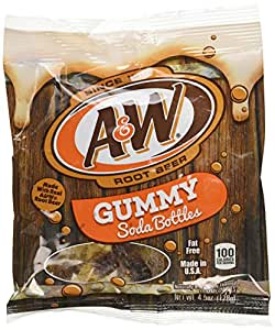 A&Wルートビアグミ128g (A&W ROOT BEER GUMMY)