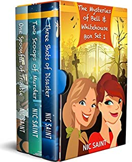 The Mysteries of Bell & Whitehouse: Books 1-3 (The Mysteries of Bell & Whitehouse Box Sets) by [Saint, Nic]