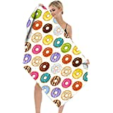 """Bath Towels,Home-Mart Sand Free Travel Beach Towel Blanket, 63""""×31"""" Quick Drying Absorbent Thin Lightweight Microfiber Campin"""