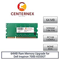 64 MB RAMメモリfor Dell Inspiron 7000 a333gt ( pc100 ) ( 3110424 )ノートPCメモリアップグレードby US Seller