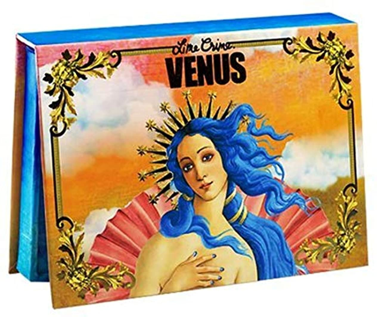 消防士シャーロットブロンテ歩くLIME CRIME Venus Pressed Powder Palette
