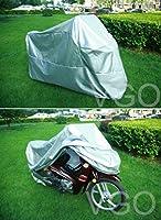 オートバイカバーfor BMW k100K100lt UVほこり防止XLシルバー