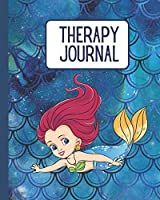 Therapy Journal: Kids Therapy Journal | Mermaid | 24 Week Planner for Parents to track Therapy Goals | Speech | Occupational | Physical