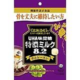 味覚糖 特濃ミルク 8.2 ラムレーズン 93g×4袋 [機能性表示食品]