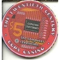 $ 5 Copaカジノのコンピュータ革命Gulfport、ミシシッピカジノチップObsolete Riverboat ?