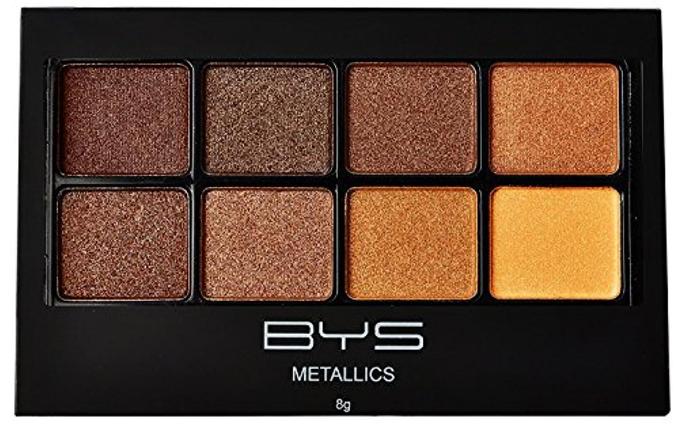 魂しつけ迷信バイズ 8パレットメタリックアイシャドウ # Metallics Browns