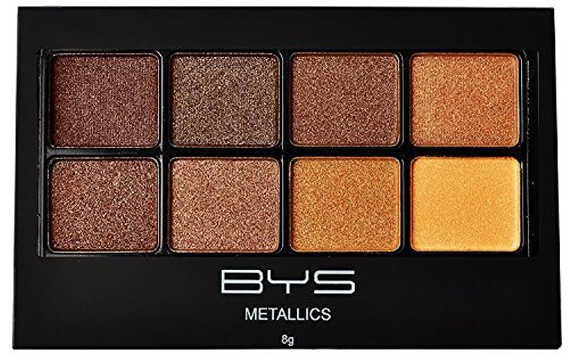 例外重なるコインバイズ 8パレットメタリックアイシャドウ # Metallics Browns
