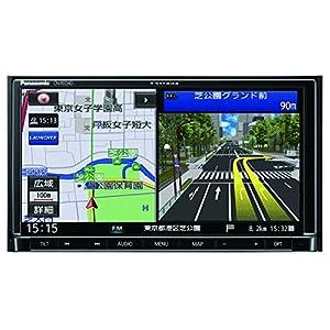 パナソニック カーナビ ストラーダ CN-RE04D フルセグ/VICS WIDE/SD/CD/DVD/USB/Bluetooth/Wi-Fi 7V型 CN-RE04D