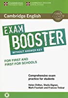 Cambridge English Exam Booster for First and First for Schools without Answer Key with Audio: Comprehensive Exam Practice for Students (Cambridge English Exam Boosters)