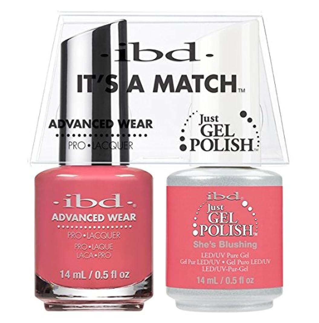 幸運な欠員ハッチibd - It's A Match -Duo Pack- She's Blushing - 14 mL / 0.5 oz Each