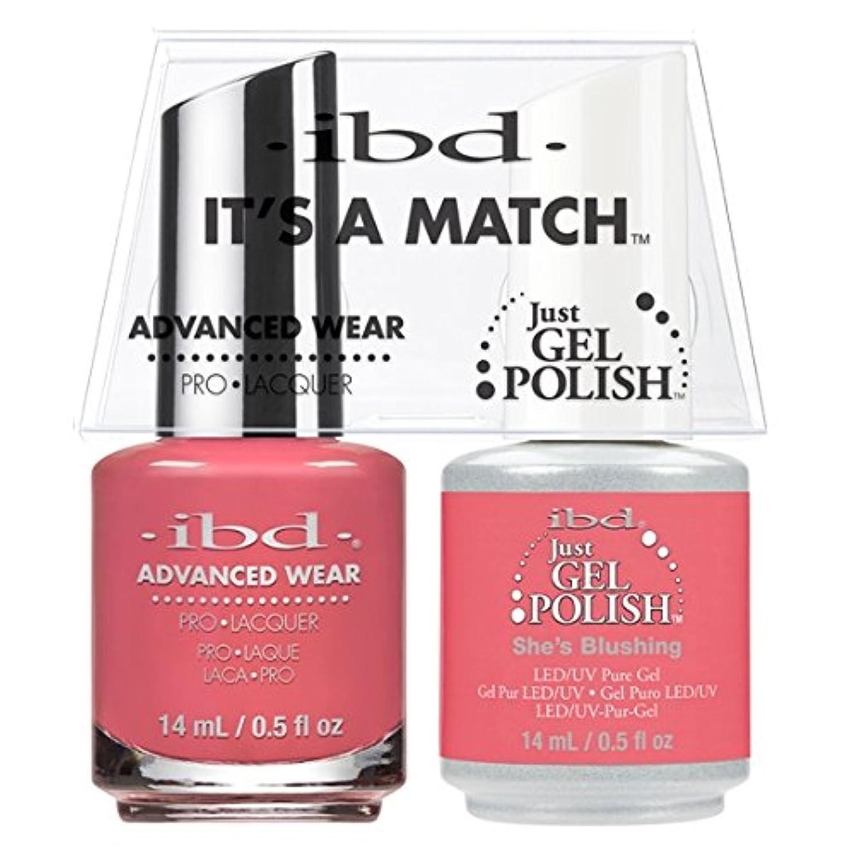 ディベートテント剛性ibd - It's A Match -Duo Pack- She's Blushing - 14 mL / 0.5 oz Each