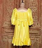 イエローギャザードレス ベッツィ ジョンソン画像②