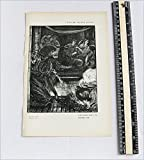 Antique Print - Parable of the Boiling-Pot