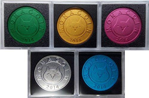 モナコインメダル MONA COIN (5色セット)