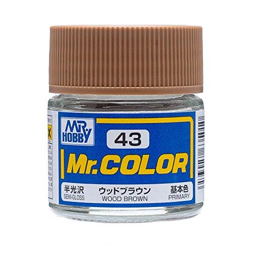 Mr.カラー C43 ウッドブラウン