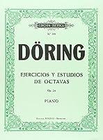 Ejercicios y estudios de octavas, op. 24 : para piano