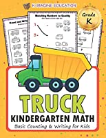 TRUCK Kindergarten Math: Basic counting and writing for kids (math kindergarten)