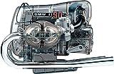 BMW R 90 S Boxermotor: Flat-Twin Engine / Bauen Sie Ihr eigenes klassisches BMW-Zweizylinder-Boxermodell aus dem Jahr 1973 / 200-Teile-Bausatz / transparentes Funktionsmodell / schaltbares 5-Gang-Getriebe / original Motorsound /  Handbuch / Bausatz im Massstab ca. 1:2
