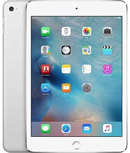 SIMフリー Apple iPad mini 4 Wi-Fi+Cellular 16GB 香港版 4G LTE A1550 (シルバー)
