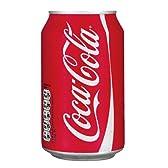 Coca Cola コカコーラ 330ml缶 24本セット