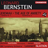 Bernstein: Symphony No. 1 Jeremiah, Symphony No. 2 The Age of Anxiety by L. Bernstein (2001-05-03)