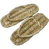 iikuru 高品質 草鞋 わらじ 足袋 靴下 セット 27 cm / 草履 ぞうり たび セット TH-358