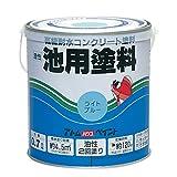 アトムハウスペイント 油性池用塗料 0.7L ライトブルー