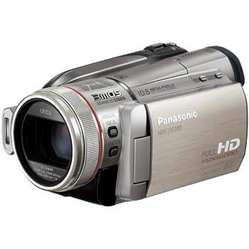 Panasonic デジタルハイビジョンビデオカメラ シルバー HDC-HS300-S