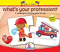 Make a Match What's Your Profession? Matching Game [並行輸入品]