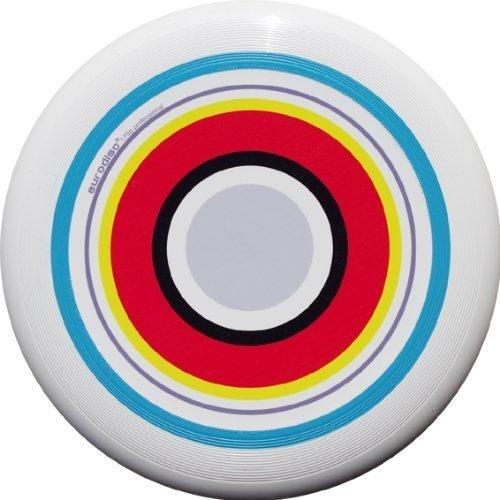 Eurodisc 175g 100%有機究極Frisbee Discデザイン夏特別なScratch Resistantフルカラー印刷