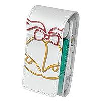 スマコレ IQOS専用 レザーケース 【従来型/新型 2.4PLUS 両対応】 専用 ケース カバー 合皮 カバー 収納 クリスマス 飾り シンプル 010080