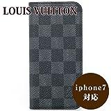 ルイヴィトン ルイ・ヴィトン LOUIS VUITTON IPHONE7・フォリオ iphone7ケース スマホケース ダミエ・グラフィット N61067