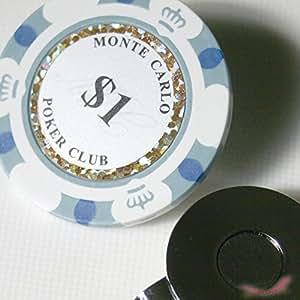グリーンマーカー ポーカーチップ ハットクリップ セット ($1)